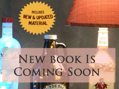 Recycled Bottle Lamp Book - New & Updated