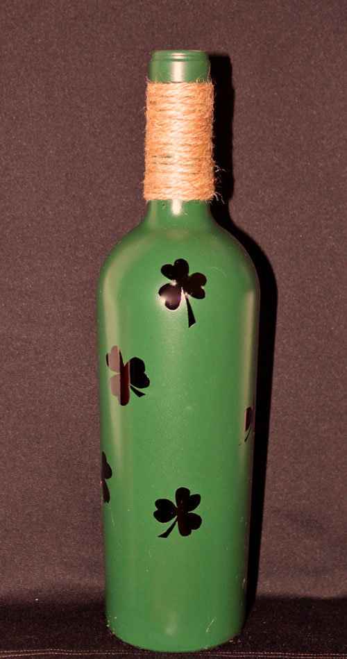 Clover Leaf bottle