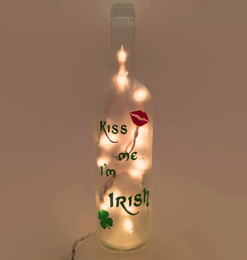 Kiss Me Im Irish bottle