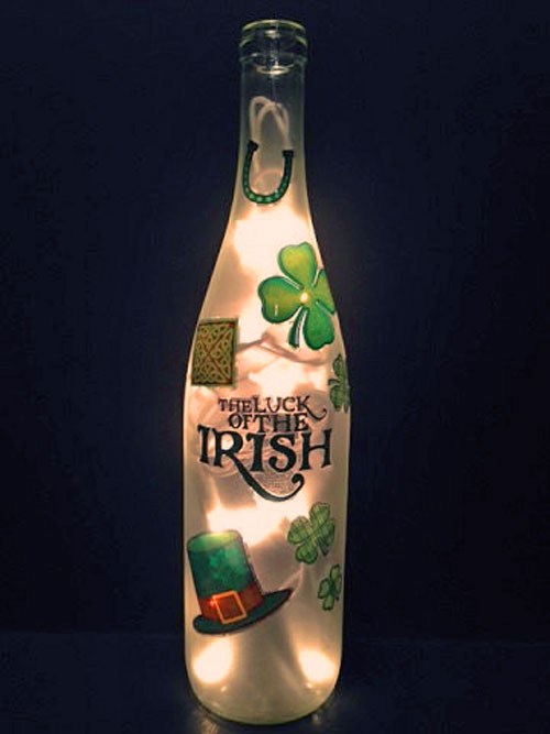 luck of the Irish bottle