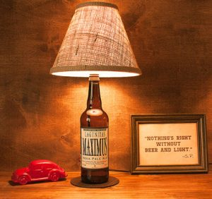 Lagunitas Beer Bottle Lamp Maximus IPA