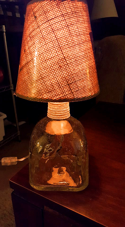 Patron Bottle Lamp
