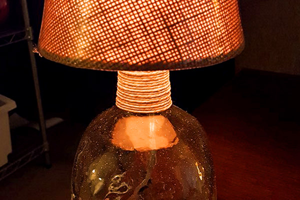 Stylish Patron Bottle Lamp
