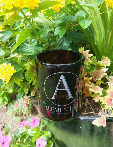 The Alementary Beer Bottle Glass