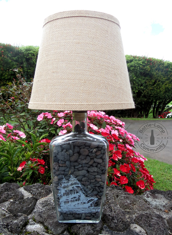 tips for making a bottle lamp