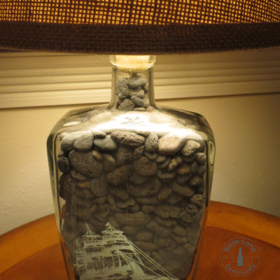 making a bottle lamp how to video