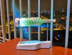 bottle lamp white stripes alt