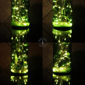 Glass bottle etching tips