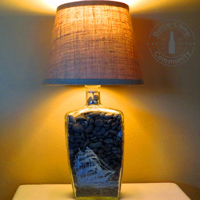 DIY Bottle Lamp Ideas, Tips & Inspirations