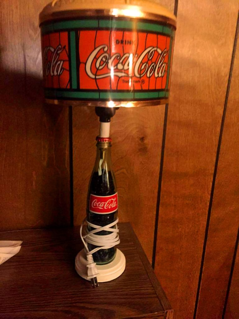 Coca Cola Bottle Lamp