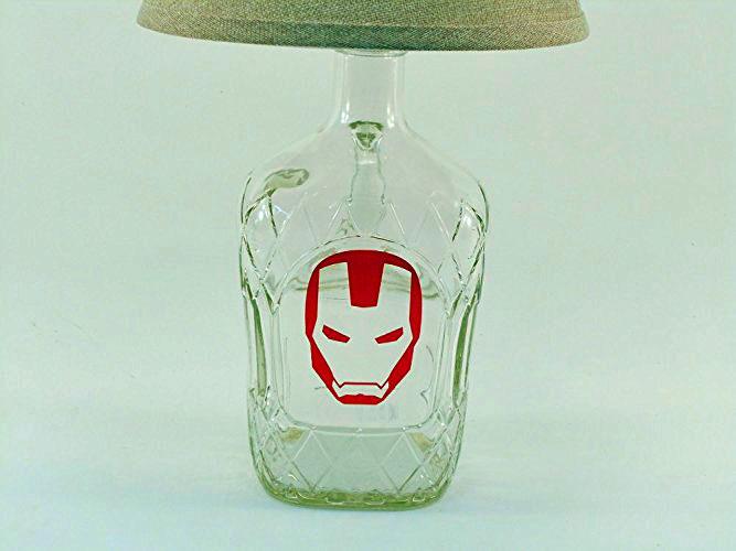 Iron Man Bottle Lamp