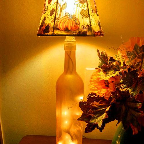 Botolouso Fall Bottle Lamp