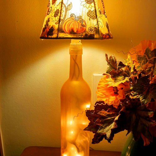 Botolouso Fall Bottle Lamp featured