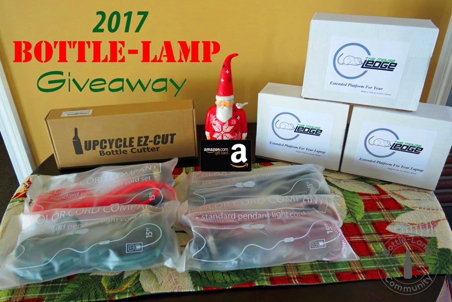 2017 Bottle Lamp Winter Giveaway