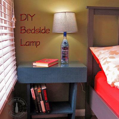 Make your own DIY Bedside Lamp