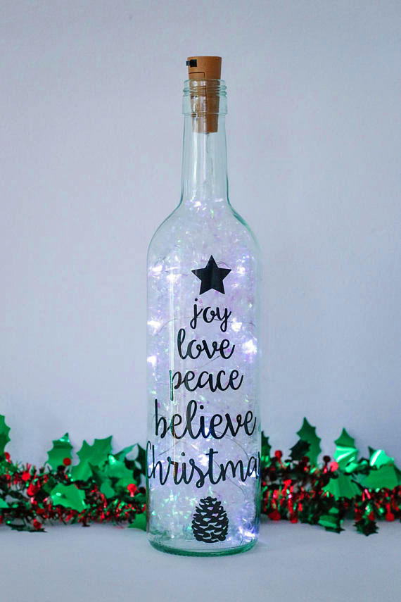 Florabundins Christmas Bottle Lights