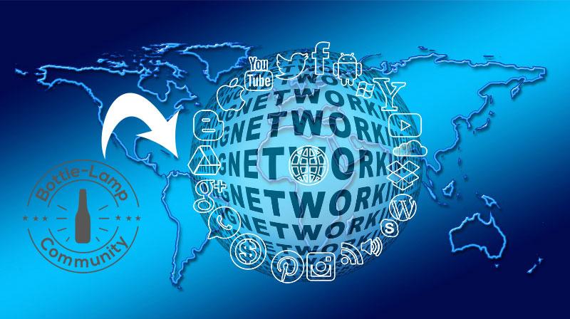 Global Bottle Lamp Network