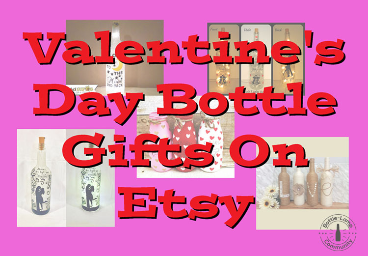 Vday Bottle Lamps