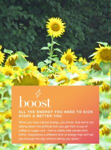 Boost your system for more energy