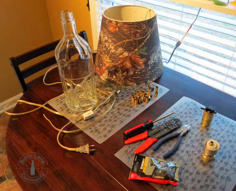Bottle Lamp Components