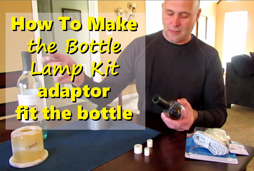 How to make your adapter fit your bottle opening