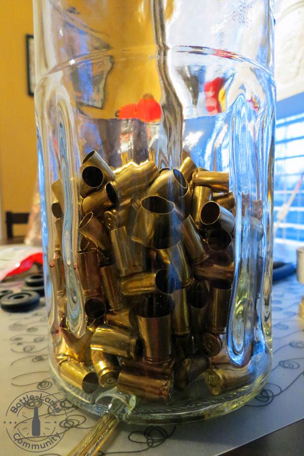 FINLANDIA Bottle Lamp filler