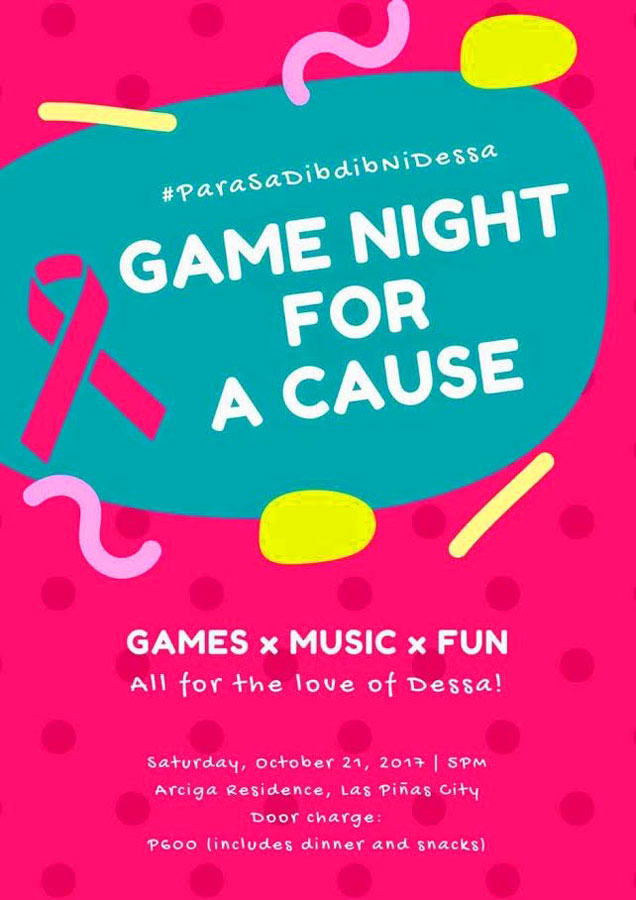 Game night for a cause #StrongerThanCancer