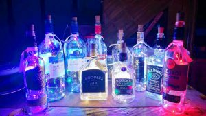 Bottle Lamps For A Cause