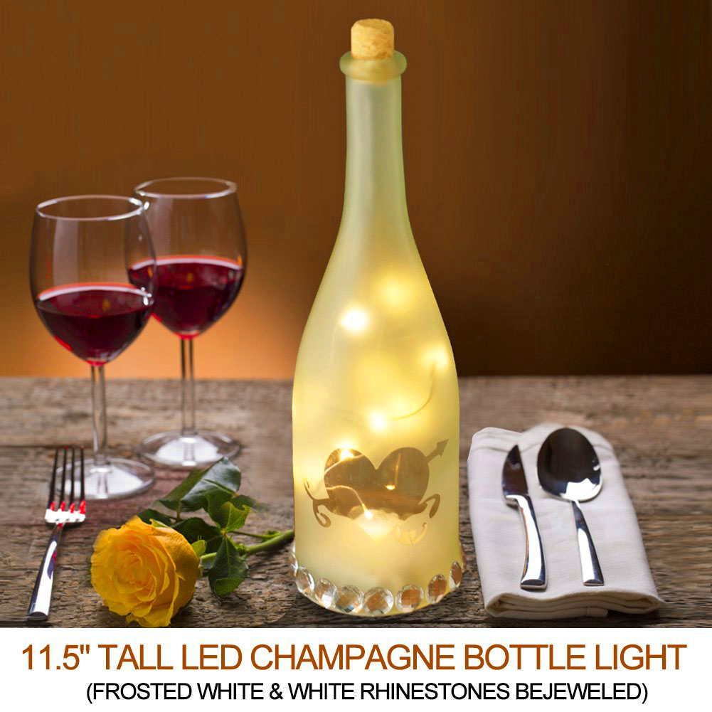 Champagne Bottle Light