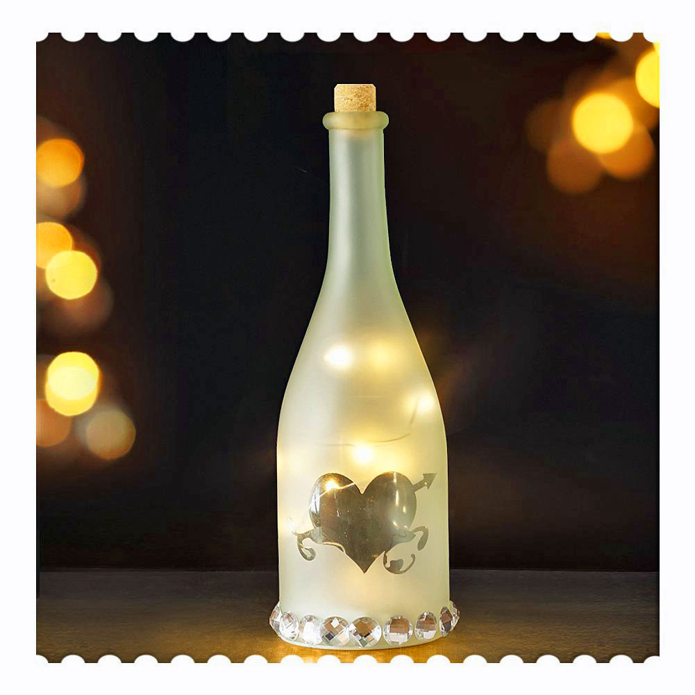 Wedding Table Bottle Decor
