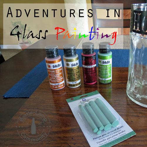 Adventures In Glass Painting