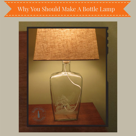 Bottle Lamp Making Infographic