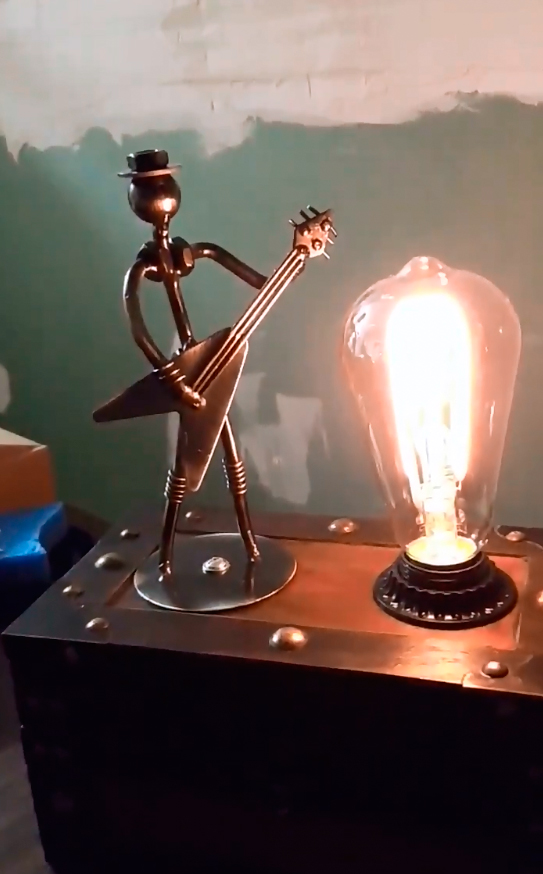 Guitar Man Lamp video