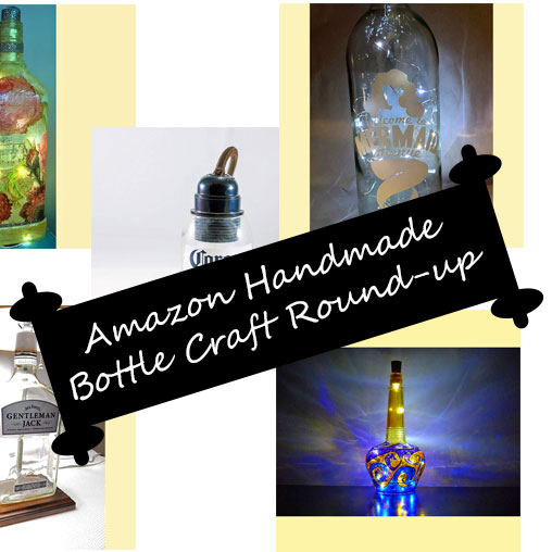 Handmade Bottle Crafts on Amazon