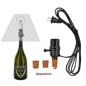 No Drill Bottle Lamp Kit