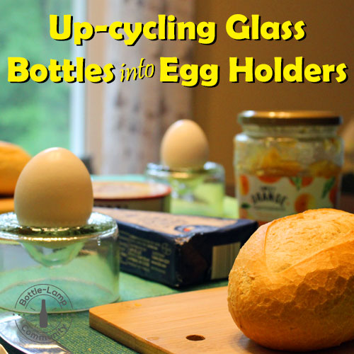 Egg Holders from Bottles